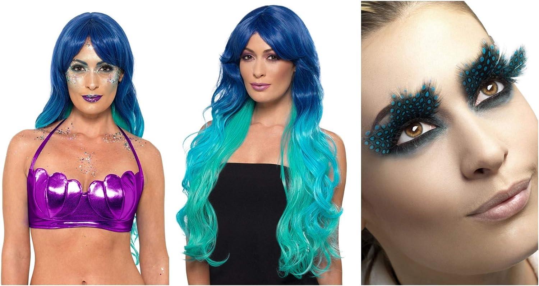 Fancy Dress World - Kit de Accesorios para Disfraz de Sirena para ...