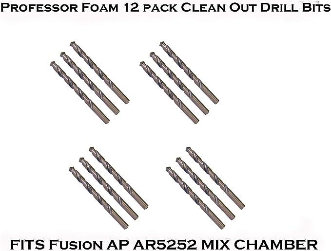 Professor Foam 12 pack Clean Out Drill Bits FITS 246628#55