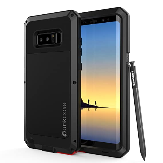 size 40 ba051 2756b Galaxy Note 8 Metal Case, Heavy Duty Military Grade Rugged Armor Cover  [shock proof] Hybrid Full Body Hard Aluminum & TPU Design [non slip] W/  Prime ...