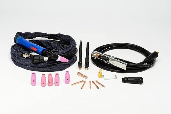 Varan Motors var-tig200s Máquina de soldar TIG, portátil y inverter + arc 200 amperios + accesorios: Amazon.es: Bricolaje y herramientas