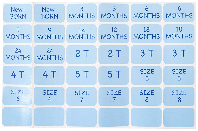 Baby Buddy Size-It Children//Baby Hanging Closet Organizer Dividers Sage