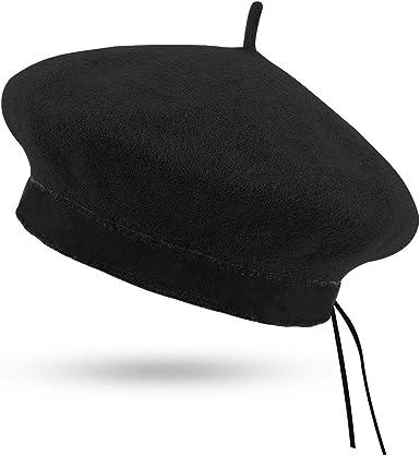 iHatsLondon French style baret 100/% wool high quality for women many colors UK