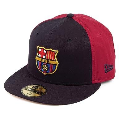 New Era 59FIFTY FC Barcelona Baseball Cap - Euroleague - Navy Burgundy 7 1  99d526c8538