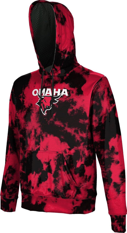 ProSphere University of Nebraska at Omaha Boys Pullover Hoodie Grunge