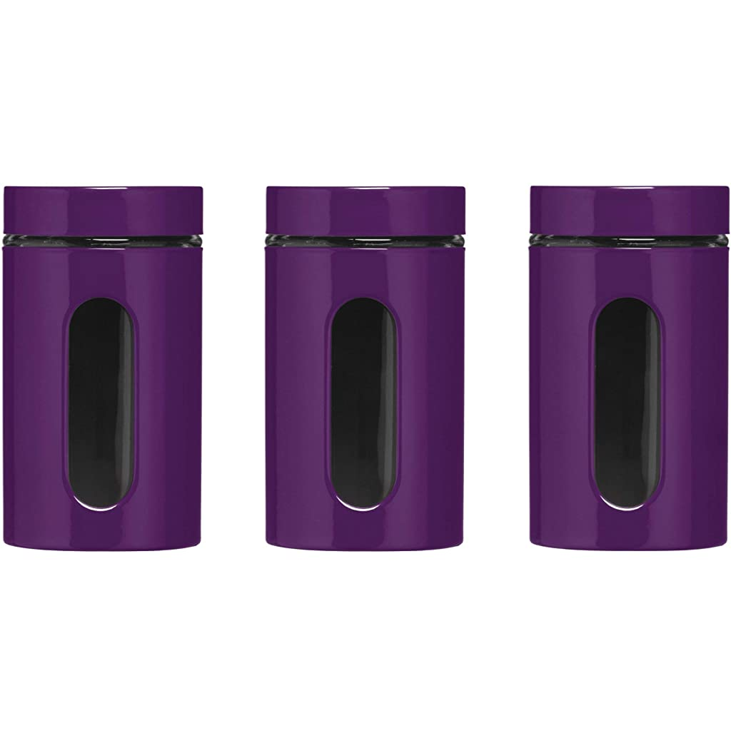 premier-housewares-set-of-3-purple-storage-canisters