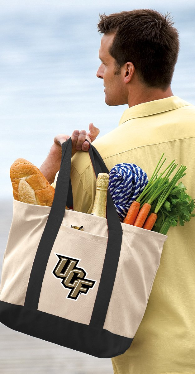 Broad Bay UCF Tote Bag or Official Canvas University of Central Florida Totes
