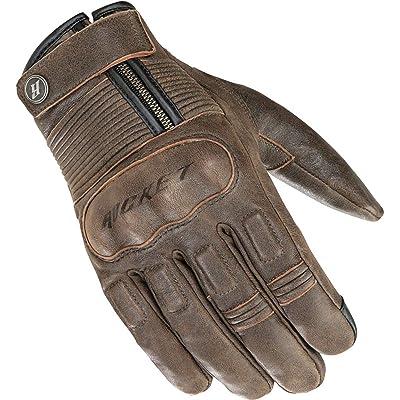Joe Rocket Men's Briton Motorcycle Glove (Brown, Small): Automotive