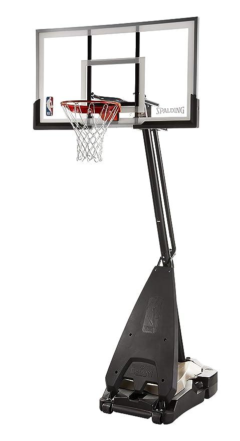 4acba4fefea Amazon.com   Spalding NBA Hybrid Portable Basketball System - 60