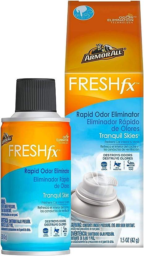 Car Odor Eliminator >> Armor All Fogger Rapid Odor Eliminator 1 5 Oz Car Bomb Spray Tranquil Skies