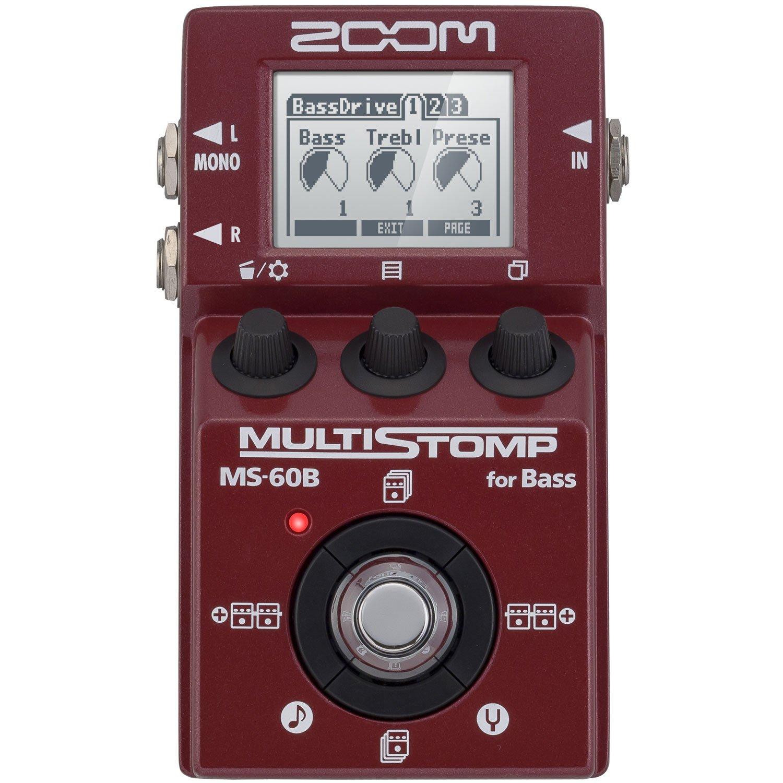 Zoom MS60B Multi-Stomp Bass Pedal (International Version - No Warranty)