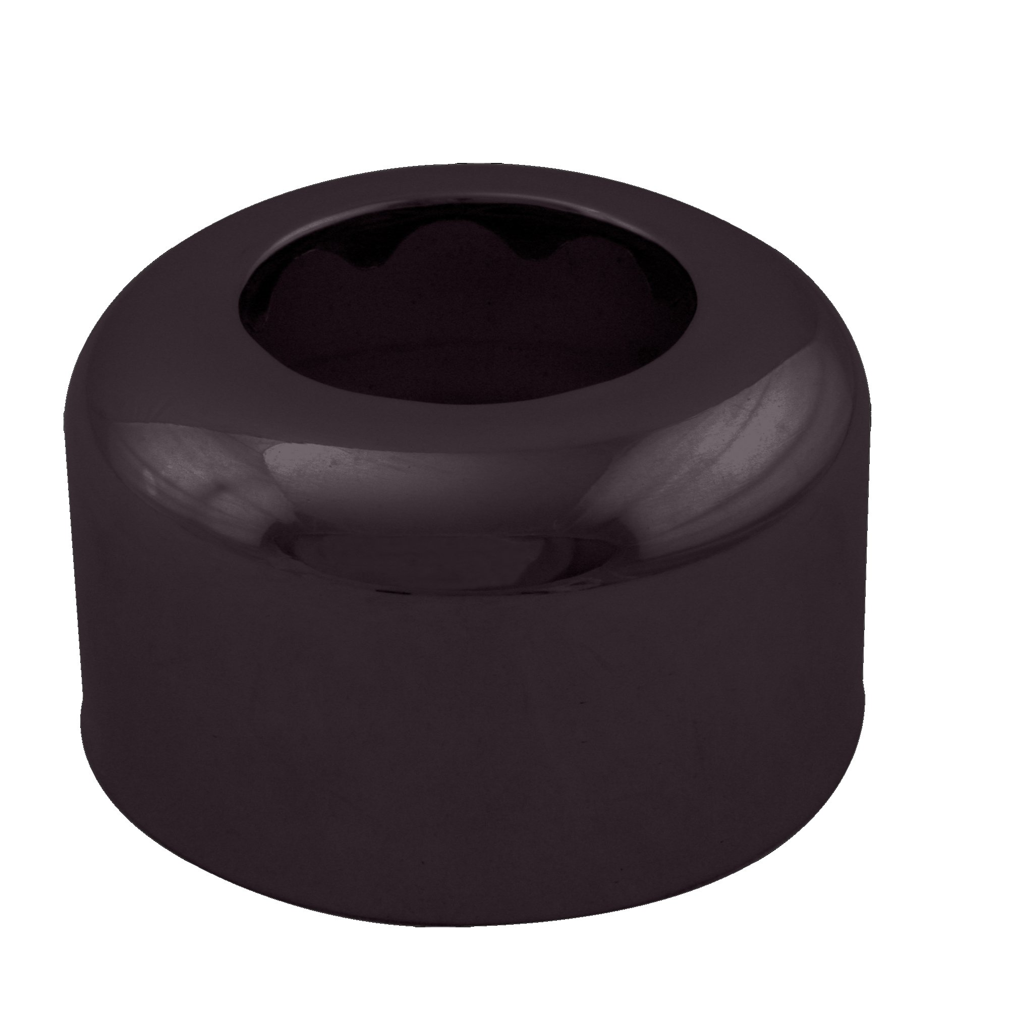 Westbrass R409-12 High Box Pattern Sure-Grip Flange, Oil Rubbed Bronze