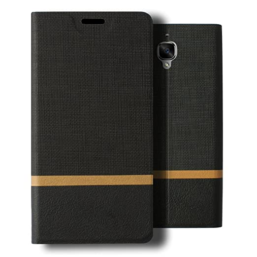 5 opinioni per Lively Life OnePlus 3 Cover- In pelle Premium Custodia PU copertura denim