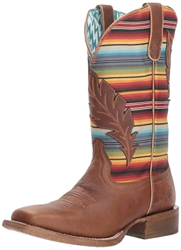 a2d5b0bc820 Amazon.com  ARIAT Women s Circuit Feather Western Boot  Shoes