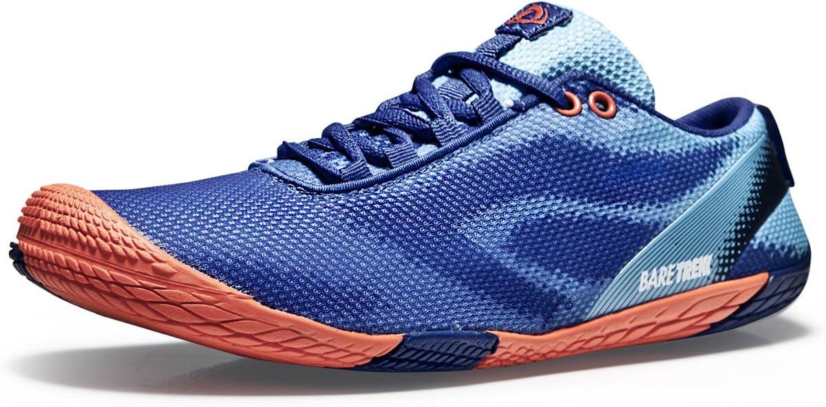 Tesla Hombres de Trail Running Minimalista Descalzo Zapatos BK30 (se Recomienda el 1/2 tamaño hasta), TF-BK30-BO: Amazon.es: Deportes y aire libre