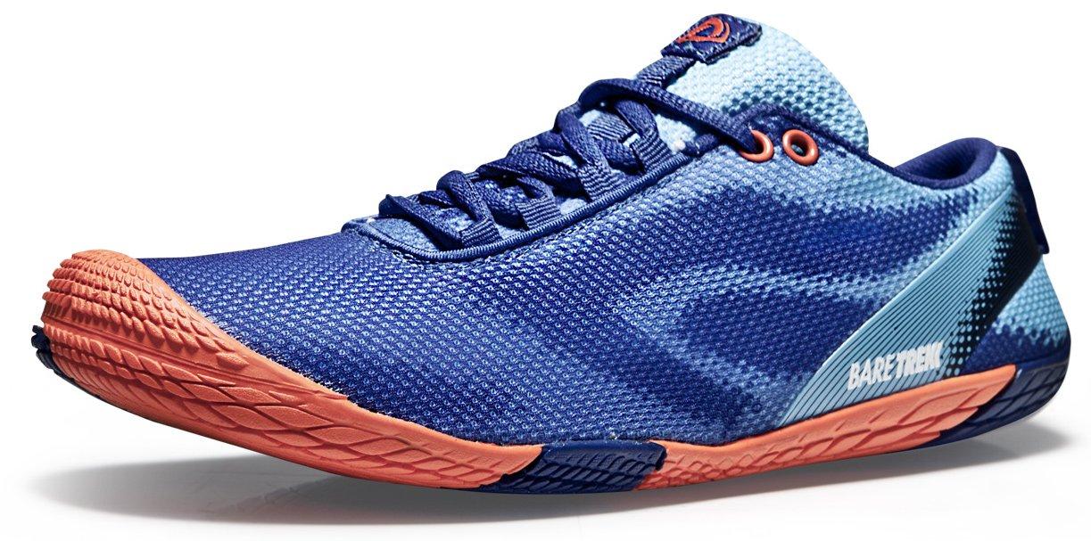 Tesla TF-BK30-BO_Men 10 D(M) Men's Trail Running Minimalist Barefoot Shoe BK30