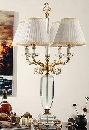 Im Europischen Stil Luxus Wohnzimmer Sofaecke Lampe K9 Luxushotel Projekt Druckknopftuch Tischlampe