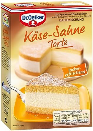 Dr Oetker Kase Sahne Torte 4er Pack 4 X 385 G Amazon De