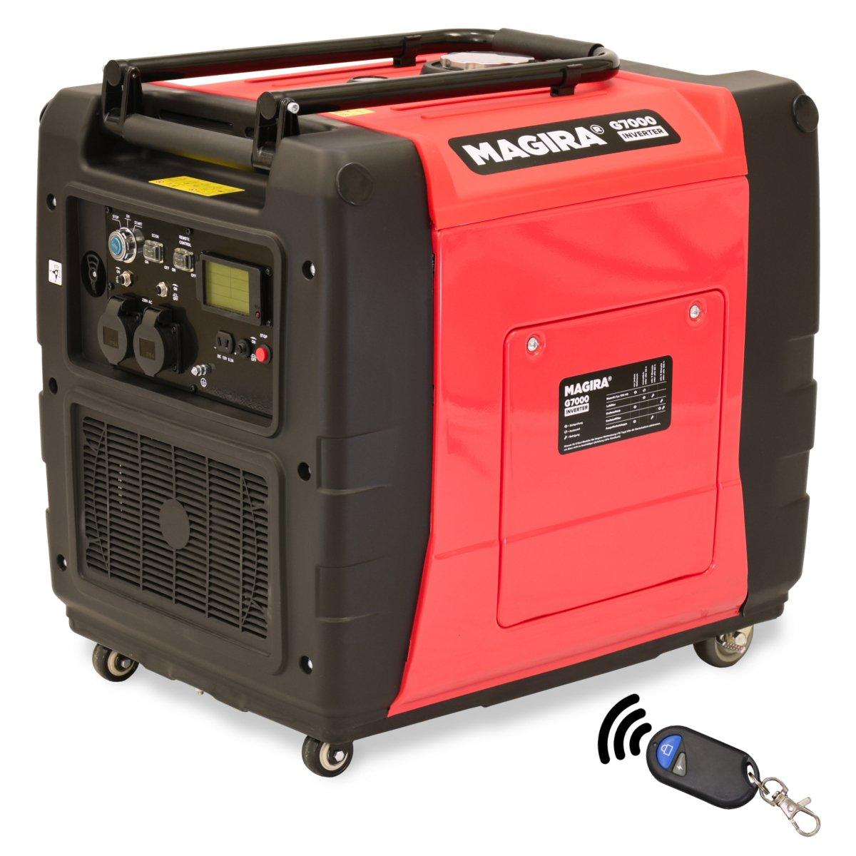 MAGIRA 7,0kW Digitaler Inverter Stromerzeuger, benzinbetriebener ...