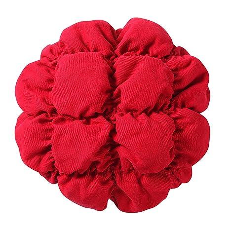 Sigmat Cojín redondo de lino para taburete infantil IKEA ...