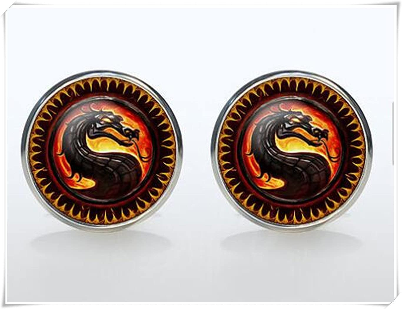 Dragon cuff links, CX28