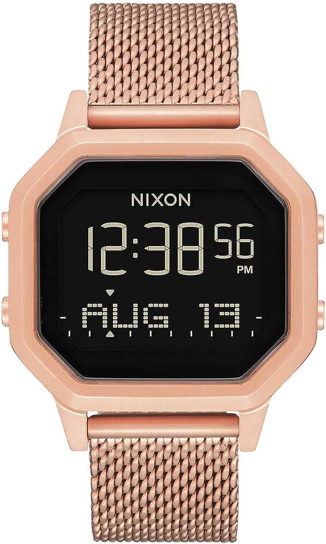 Nixon The Sirene Reloj para Mujer Digital de Cuarzo japonés con Brazalete de Acero Inoxidable A1272897