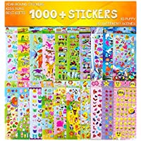 Airbin 1,000-Piece Sticker Set