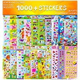 Stickers 1000 + and 20 Different Scenes , 3D Puffy Stickers, Year-Round Sticker Bulk Pack for Teachers,Students, Toddlers,Scrapbooking, Girl Boy Birthday Present Gift,Christmas Festival Supplier.