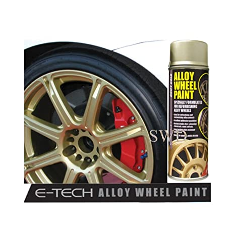 Auto Inpart Drift oro E-TECH – Pintura para llantas de aleación Chip resistente rueda