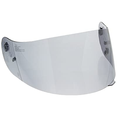 HJC Helmets HJ-09 Unisex-Adult Anti-Scratch Replacement Face Shield (Smoke, One Size): Automotive