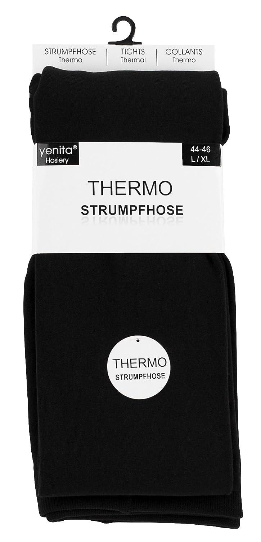 Vincent Creation 2 Paia Collant donna termico nero con interno in pile