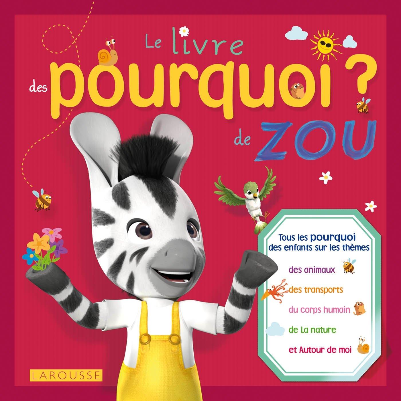 Livre Des Pourquoi De Zou Le Amazon Ca Agnes Besson