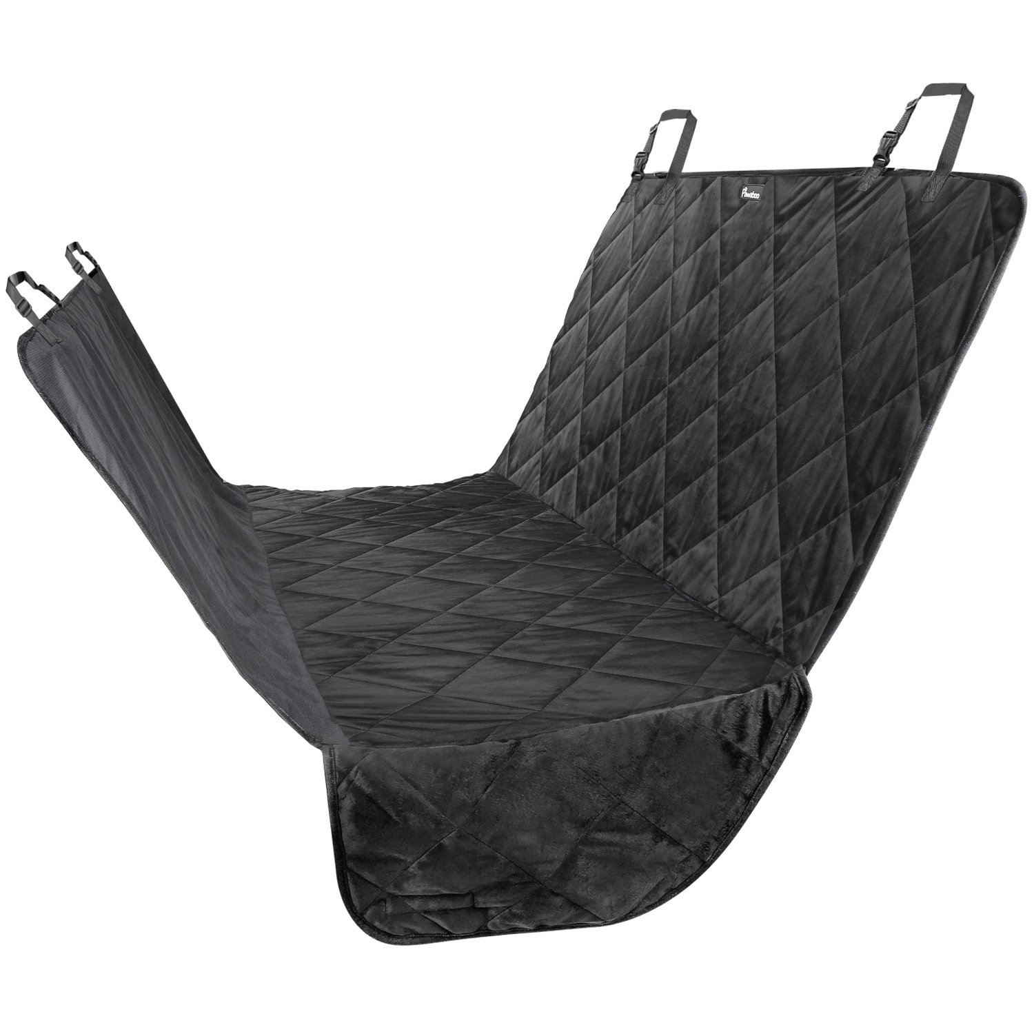Amazon Pawaboo Pet Car Seat Cover Hammock Style Dog Backing Water Resistant Non Slip For Cars Trucks Suvs Large Size