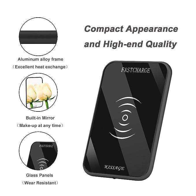 KISSAGE - Cargador inalámbrico Ultrafino para Samsung Galaxy ...