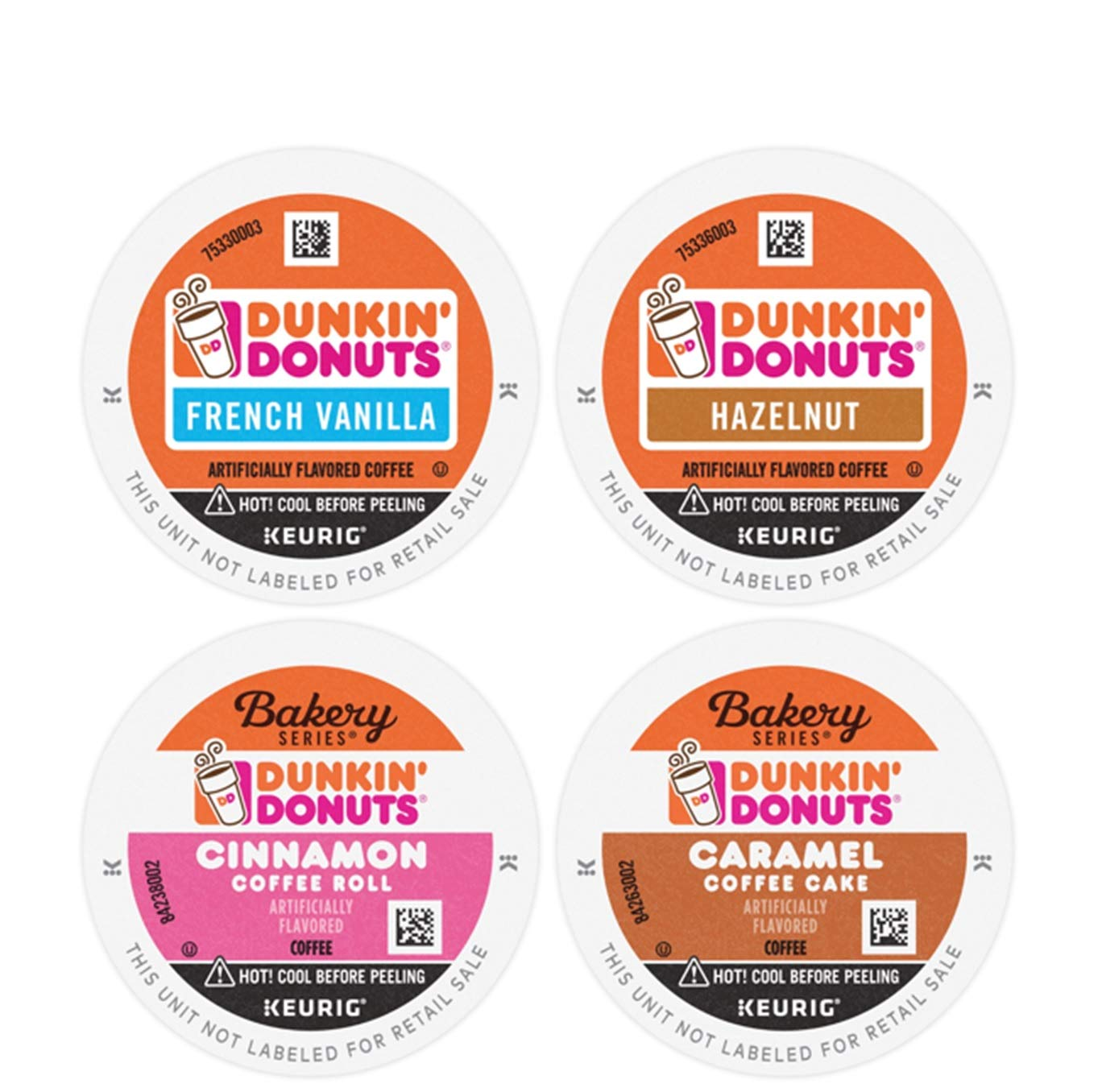 Dunkin' Mixed Flavor Coffee Variety Pack, 60 K Cups for Keurig Coffee Makers (Packaging May Vary)