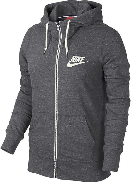 Nike Gym Vintage Veste à Capuche en Polaire XL Gris Gris