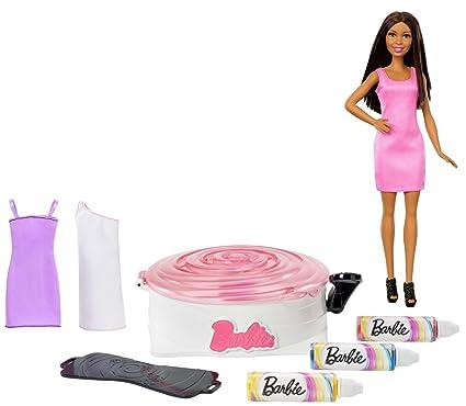 Barbie Spin Art Designer With Doll Brunette