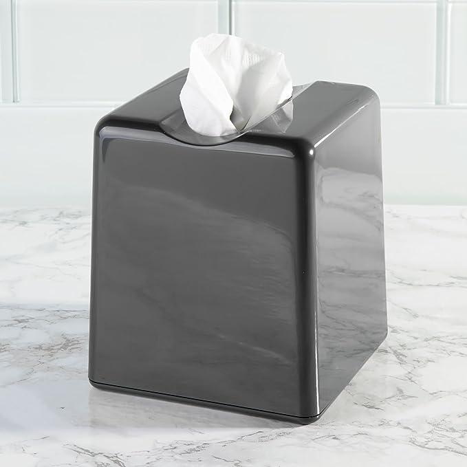 MetroDecor mDesign Fundas para Cajas de pañuelos - Práctico dispensador de pañuelos para el baño o la Oficina - Modernas Cajas para pañuelos de Papel ...