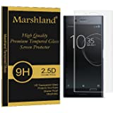 Sony Xperia Xz Tempered Glass 3D (Transparent) Full Curve Perfect Fit Crystal Clear Anti Shatter 99% Transparency Anti Explosion Bubble-Free Oleo phobic Coating Tempered Glass For Sony Xperia Xz Marshland®