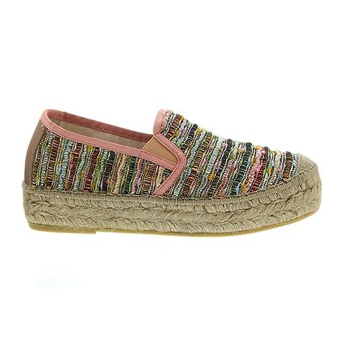 Vidorreta Cangrejo - Alpargatas para mujer, color multicolor, talla 38 EU: Amazon.es: Zapatos y complementos