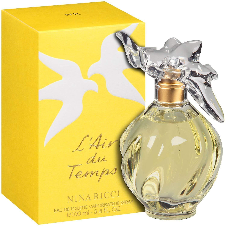Nina Ricci L'Air du Temps Perfume for Women 3.4 oz Eau De Toilette Spray