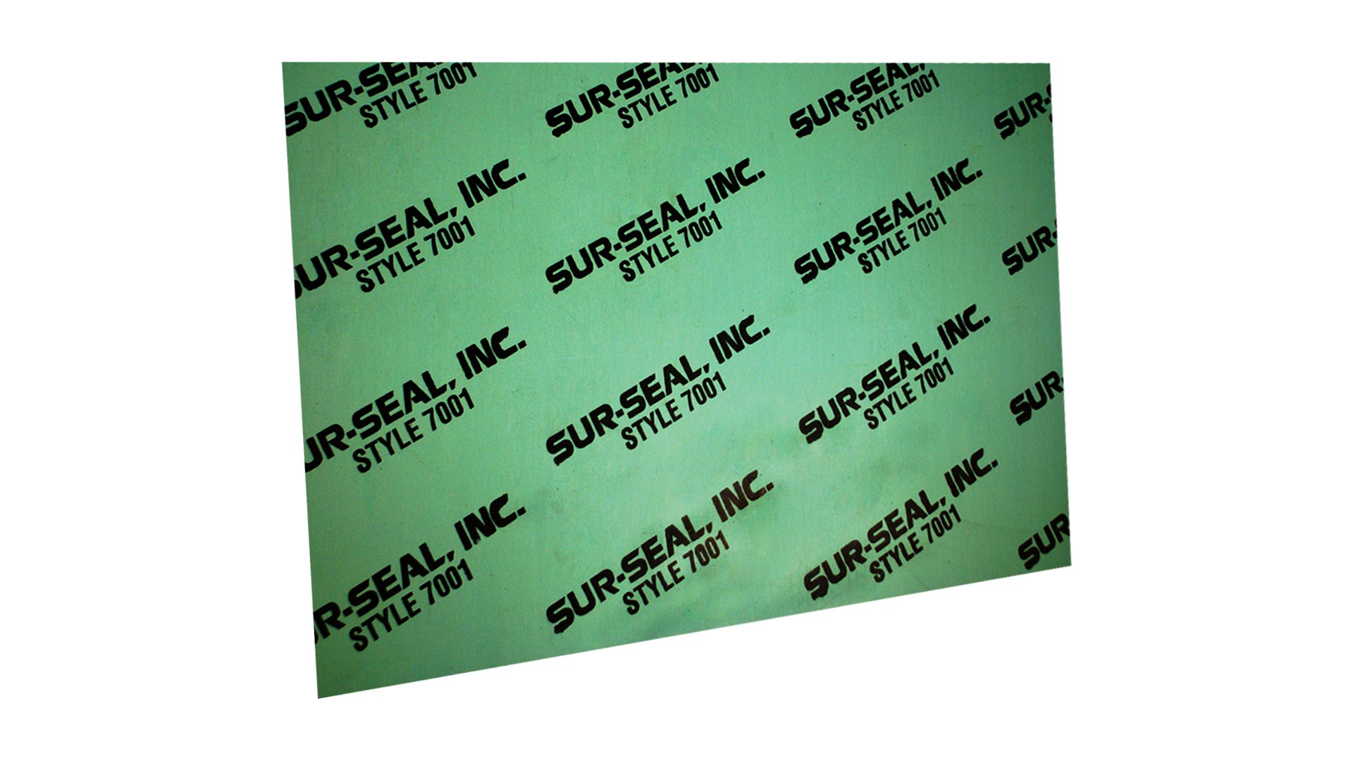 Sterling Seal and Supply (STCC) GS700112530X30 Green Aramid Fibers/NBR 7001 Non-Asbestos Compressed Sheet, 30'' Length, 30'' Width, 0.125'' Thick