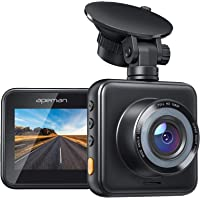 APEMAN Mini Dash Cam 1080P Car Camera Driving Recorder Night Vision, 170° Wide Angle, Motion Detection, Parking…