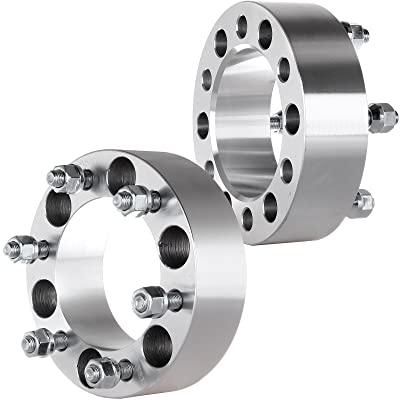 ECCPP 2X 2 inch 6x5.5 to 6x5.5 Wheel Spacers 6 Lug 6x139.7 to 6x139.7 Fit for Toyota 4Runner FJ Land Cruiser Tacoma Tundra Sequoia with 12x1.5 Studs: Automotive