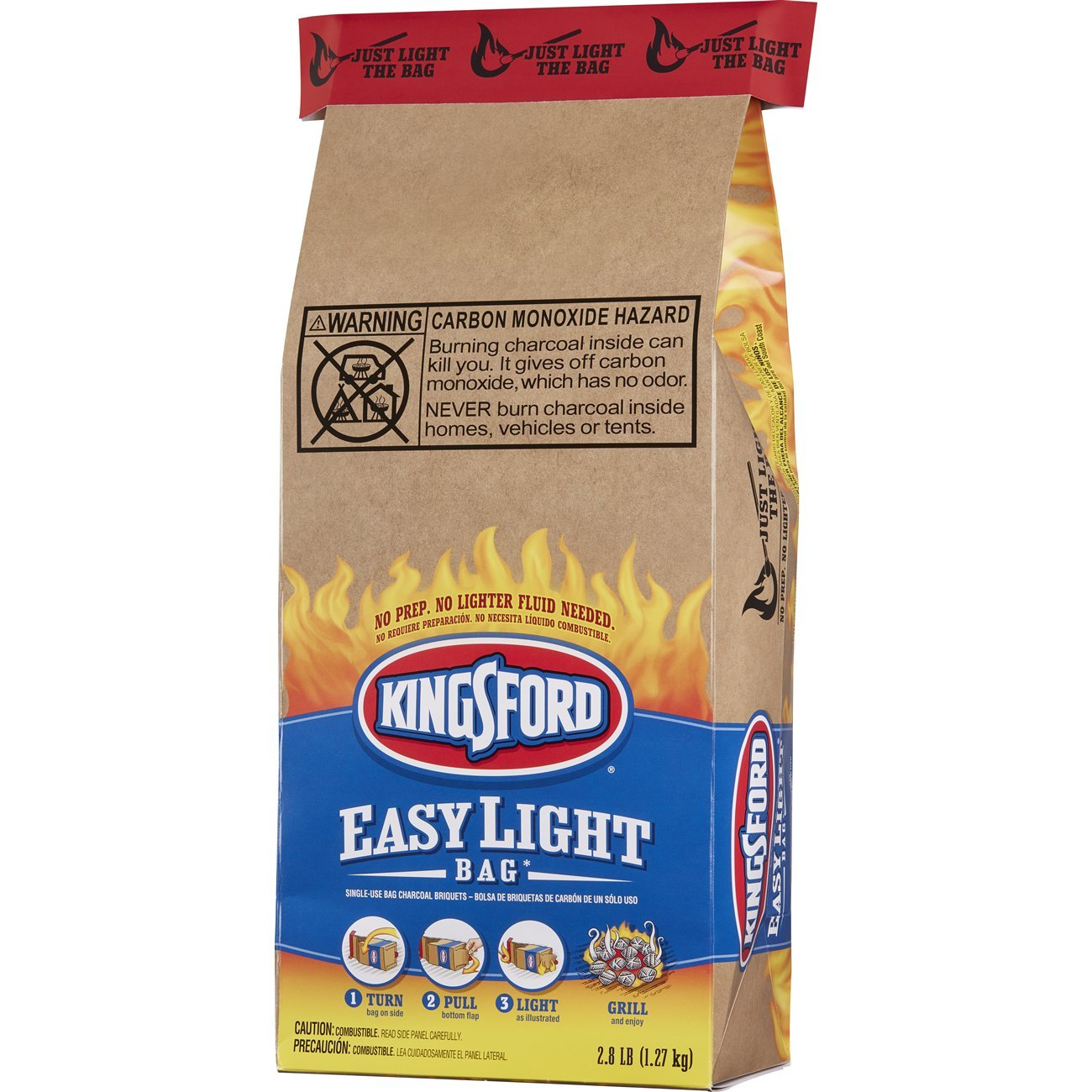 Amazon.com : Kingsford Easy Light Bag, 2.8 Pounds (Pack of 2) : Patio, Lawn & Garden