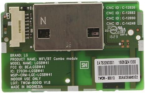 121 AV Wifi módulo Bluetooth para LG 55LB700 V 55