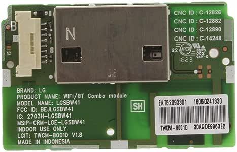 121 AV Wifi módulo Bluetooth para LG 47LB650 V 47