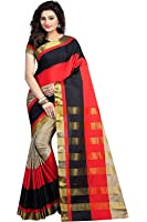 BuyOnn Sarees For Women Latest Design Party Wear Multi Color Cotton Silk Sarees New Collection Party Wear Saree With Blouse Piece