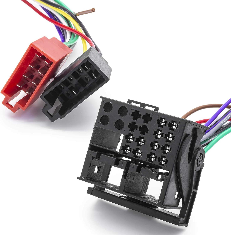 Adapter Universe Adattatore antenna radio autoveicolo ISO quadlock presa MOST