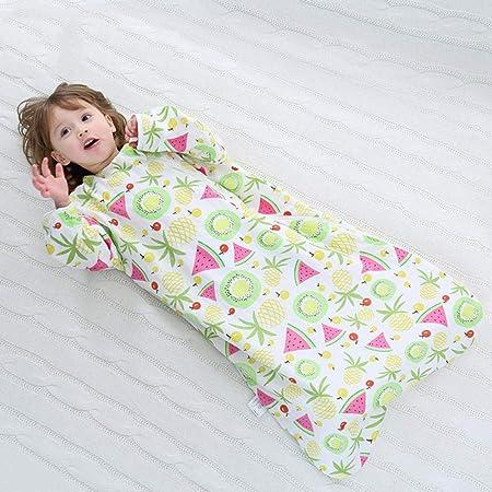 B/H Cómodo Saco de Dormir para bebé,Four Seasons Universal Gauze Baby Sleeping Bag,Edredón Suave Antideslizante para niños-04_100cm,Bolsa de Descansa para Bebé: Amazon.es: Hogar