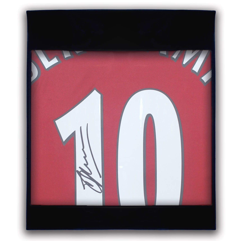 Autographed Sport Memorabilia Dennis Bergkamp Signed Arsenal Soccer Jersey